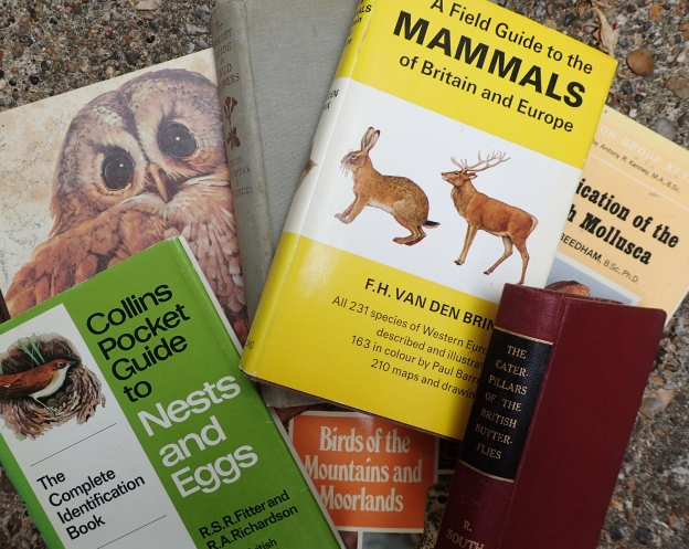 Older books in my natural history library