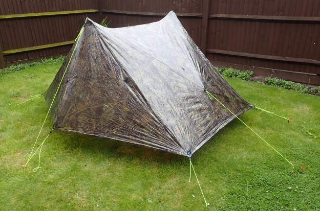 Duplex Tent from Z Packs is quick and easy to erect