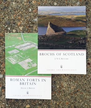 These two books in the Shire Archaeology Series concentrate on fortifications outside those already mentioned