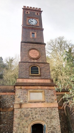 Clock Tower, in the shadow of the Malvern Hills