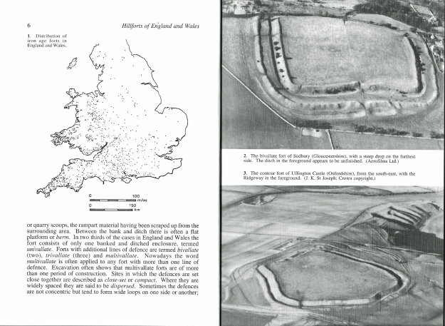 Author James Dyer really knows his subject. A lecturer in archaeology, he has studied hillforts and includes detail on two personally excavated by him in this handy little volume
