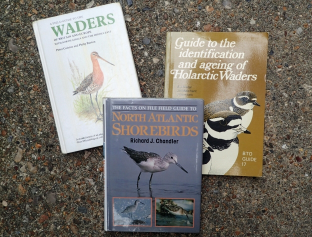 Three specialist books on waders