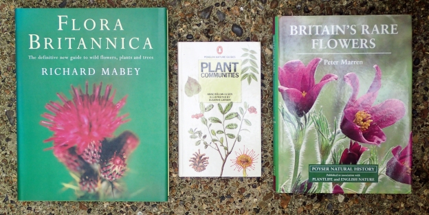 Books on the Natural History of British Flora