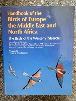 Birds of the Western Palearctic, volume IV