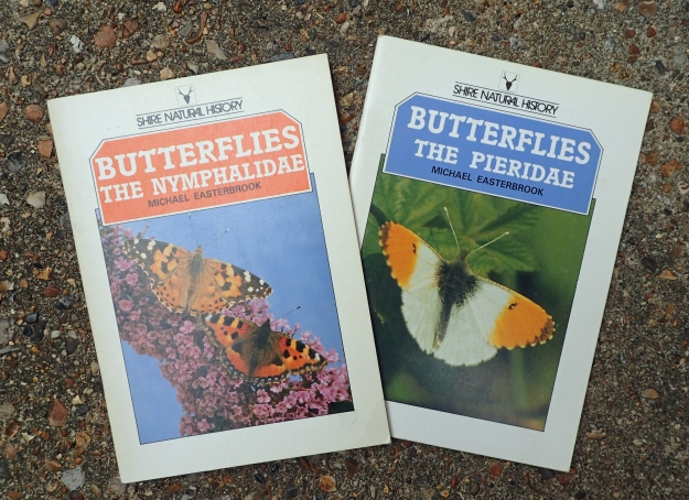 The two cheap but efficient Shire publications were amongst the first I purchased from this publisher. Both Nymphalidae (1987) and Pieridae (1989) from Michael Easterbrook can be read in less than an hour yet give considerable information on these Families