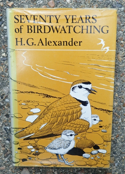Published in 1974, this volume is a bit of an oddity in the Poyser stable. More about a man than birds themselves, it tells the story of birdwatching, birdwatchers and birds through the life of one man- H.G. Alexander, who began birdwatching in ernest in 1898