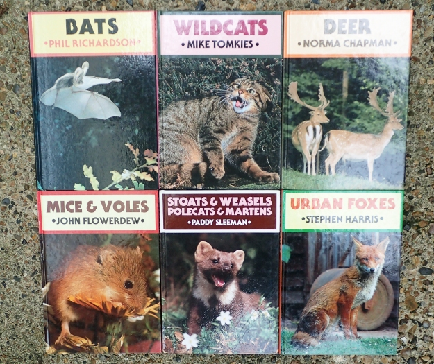 A very good, reasonably priced series of books was published by Whittet Books. nUpdated and new editions are avaialbe. Written by ackoledged expert sin their field, these are very accessible and in no way daunting, but still give good information on species