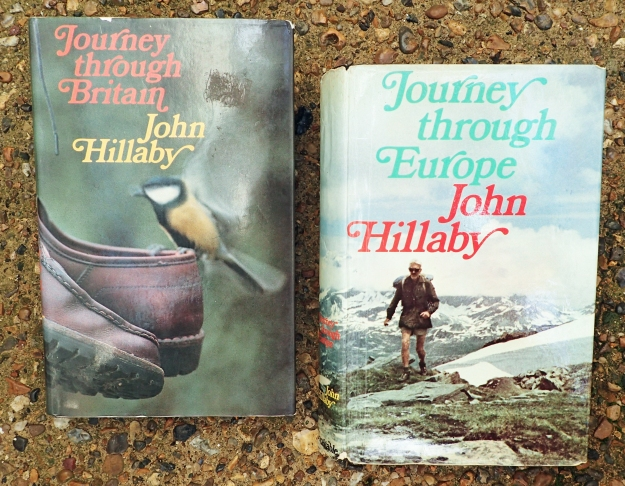 Journey through Britain records John Hillaby's spring walk the length of Britain from Land's End to John O'Groats. Journey through Europe was his account of his walk from the Hook of Holland to Nice via the Alps. These are the best accounts of his walks