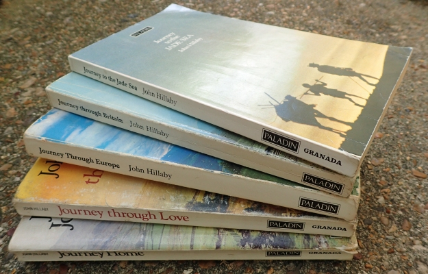 The 'Journey' series of books from John Hillaby can still be picked up in acceptable paperback form very cheaply