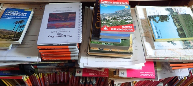 Sorting through the trip piles