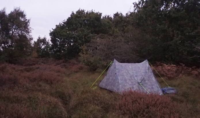 Last night of wild camping on the Icknield Way Trail. Cavenham Heath proved to be a windy location