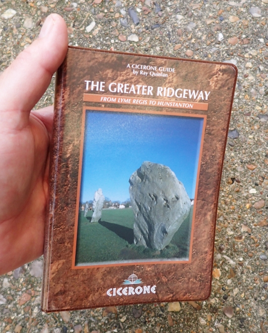 Only published in 2003, and already not the easiest of books to find these days. The Greater Ridgeway by Ray Quinlan is to the usual high Cicerone standard. It is the ideal companion to anyone attempting the whole distance rather than just one of the constituent paths. There are dedicated Cicerone guides to both The Ridgeway and the Pedars Way and Norfolk Coast Path