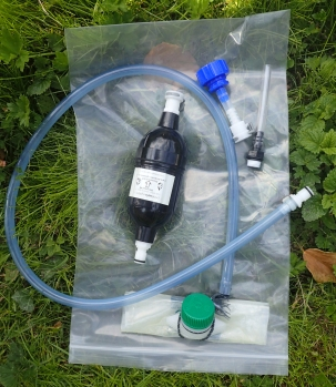My previous filtration system, this incorporates a Drinksafe filter