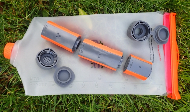 CNOC Vecto and MUV water filter