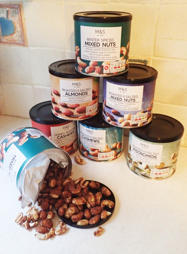 M&S Food Hall is a slippery slope for the lover of nuts