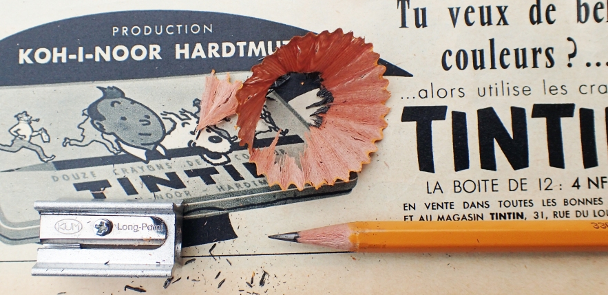 Sharpened point with KUM Long Point. Pencil is Koh-I-Noor Hardmuth 1500 3B
