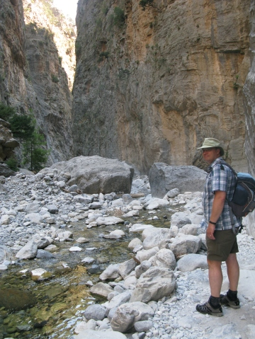 Inov8 330 were worn when hiking in Crete in 2013. Samaria Gorge