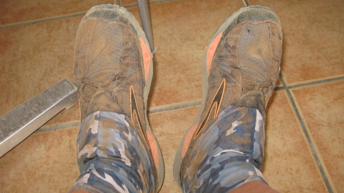 Dirty Girl Gaiters have proved indispensable with my choice of footwear