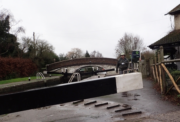 The Grand Union Canal is a popular for leisure use and some of it was followed by Three Points of the Compass on the London Loop in 2016