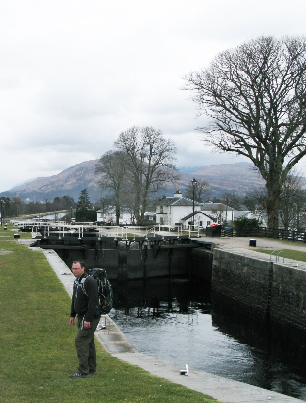 Having completed the West Highland Way in 2013. Three Points of the Compass stayed in Fort William and explored Neptune's Staircase on the Caledonian Canal the following day. This is the longest staircase lock in Great Britain, comprising of a flight of eight locks. The canal was built by Thomas Telford between 1803 and 1822