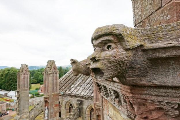 Gargoyle at Melrose Abbey