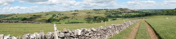 Approaching the Peak District, 21st June 2018