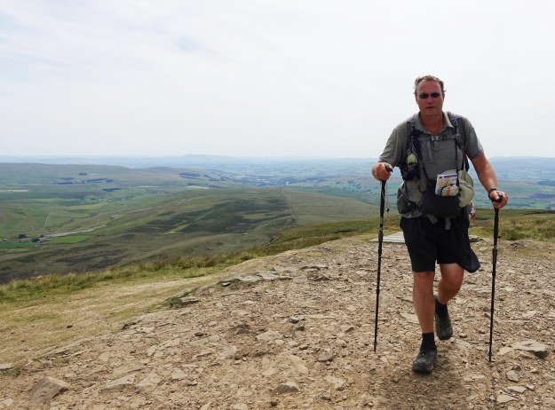 Atop Pen-y-Ghent, Pennine Way, June 2018