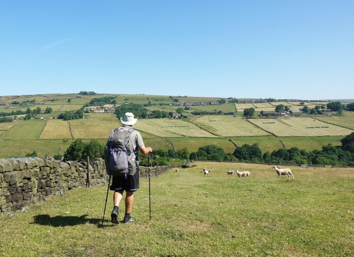 The Pennine Way isn't, by any means, simply flagstones across peat hags. 28th June, 2018