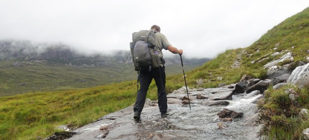 Yet another crossing, Cape Wrath Trail