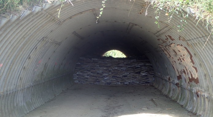 Only a couple of diversions were encountered, here, a blocked tunnel below a main road meant that 1.5 miles were added to the days total when hiking between Ashurst and Tonbridge
