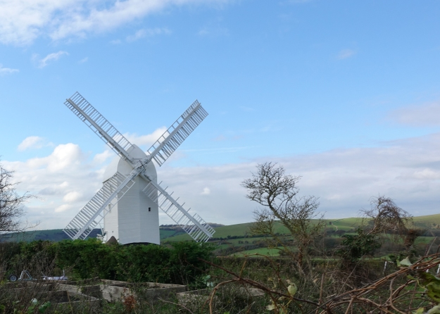 Post Mill Jill is one of the Clayton windmills and can be seen for miles