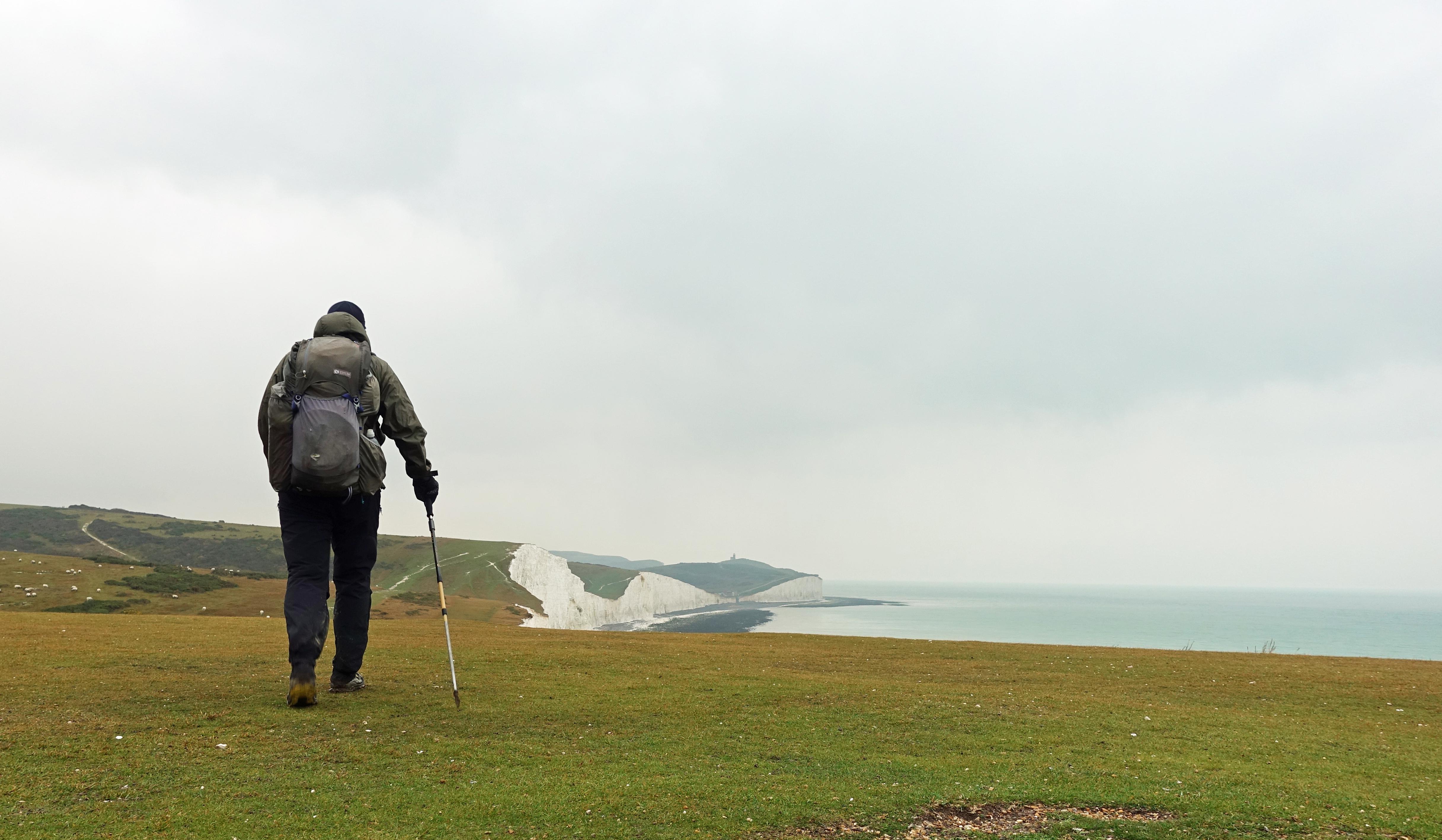 Walking toward Birling Gap