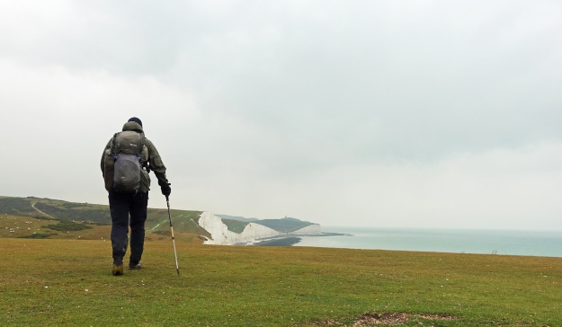 Walking toward Birling Gap