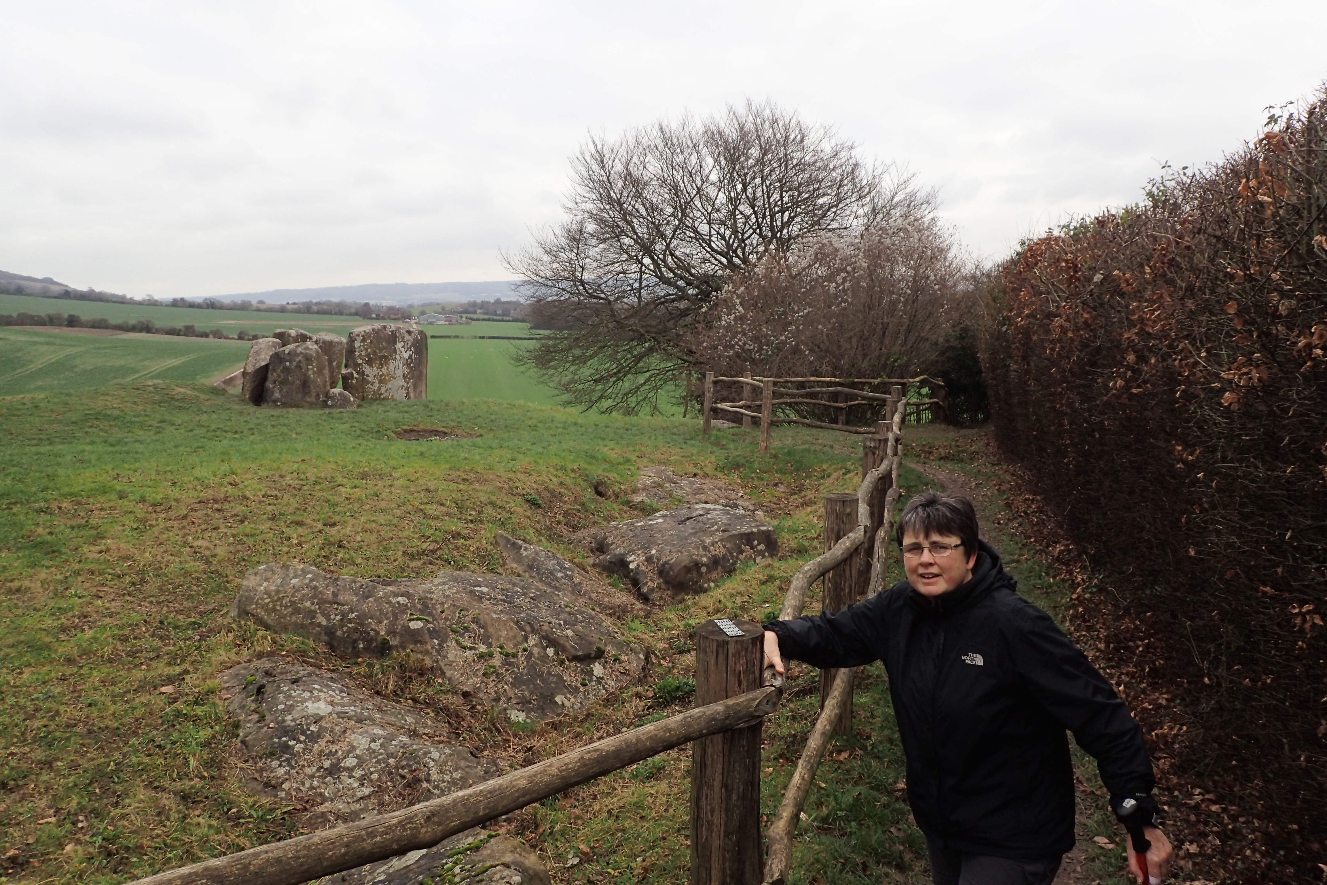 Coldrum Stones Long Barrow was excavated in 1910. It contained the remains of 22 people, men, women and children