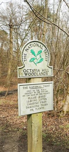 Octavia Hill, named after one of the founder of the National Trust. Passed on the North Downs Way 2016