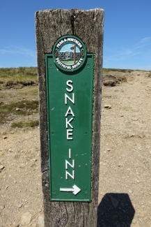Signpost of the Peak and Northern Footpaths Society- Pennine Way