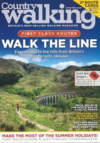 Country Walking magazine, August 2014