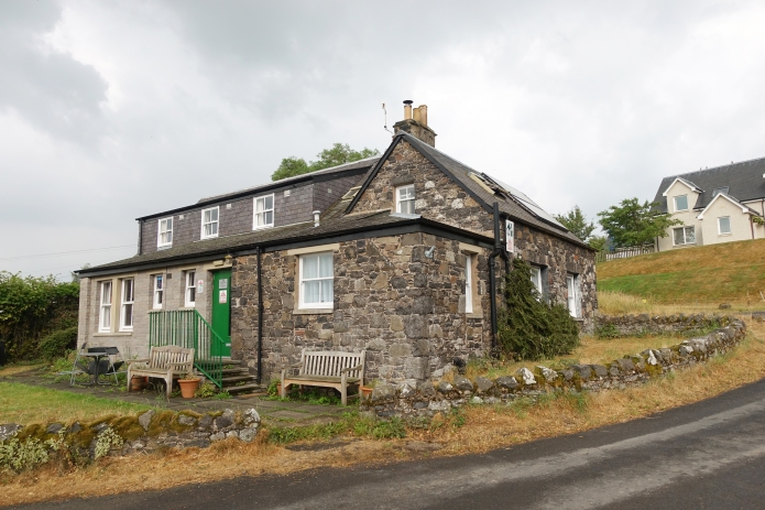 Kirk Yetholm hostel, 13th July 2018, end of the Pennine Way