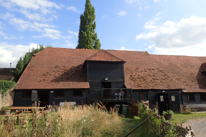 Three Points of the Compass stayed at the Friend of Nature Eco camping barn while completing the North Downs Way in 2017
