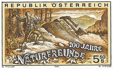 Austrian stamp