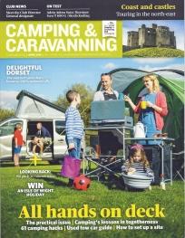 Camping & Caravanning. April 2019