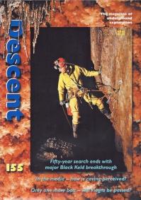 Descent, August/September 2000. Cover- Torca del Regalon, Picos de Europa