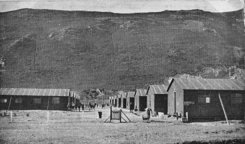 Appearing quite spartan and reminiscent of an internment camp, the accommodation sheds of the Holiday Fellowship camp at Conway were, nonetheless, a welcome respite for many, 1922