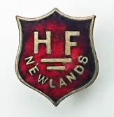 Holiday Fellowship pin badge used by those staying at Newlands