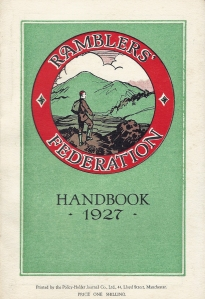 Ramblers' Federation Handbook (Manchester and District) 1927