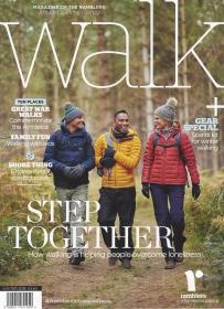 Walk, winter 2018. Cover- Thetford Forest, Norfolk