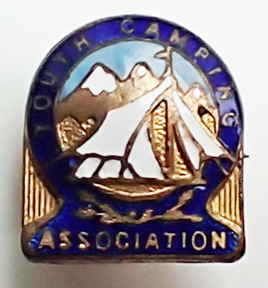 Youth Camping Association. post 1941
