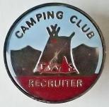 Camping Club Recruiter. Pre 1983