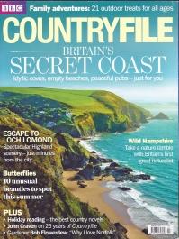Countryfile, July 2013. Cover- Llangrannog, Cornwall