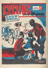 Cycling and Mopeds, November 1958